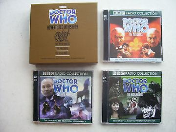Doctor Who The Myth Makers. The Massacre The Highlanders Limited CD Audio Set